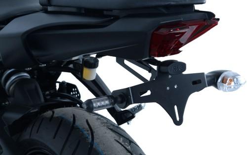 R/&G Aero *BLACK* Crash Protectors for Yamaha MT-07 2014-2016 XSR700 2016 and Tracer 700 2016 models