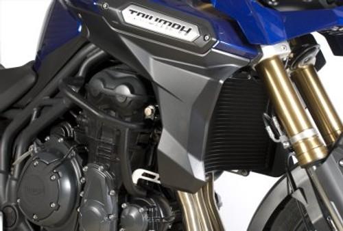 Triumph Tiger Explorer 1200 2012 onwards R/&G racing fork protectors black
