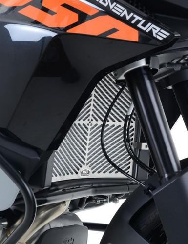 KTM 1050 Adventure 2015 R/&G Racing Tank Traction Grip Pads EZRG500BL Black